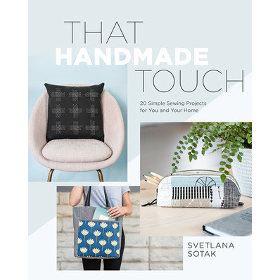 that handmade touch book cover