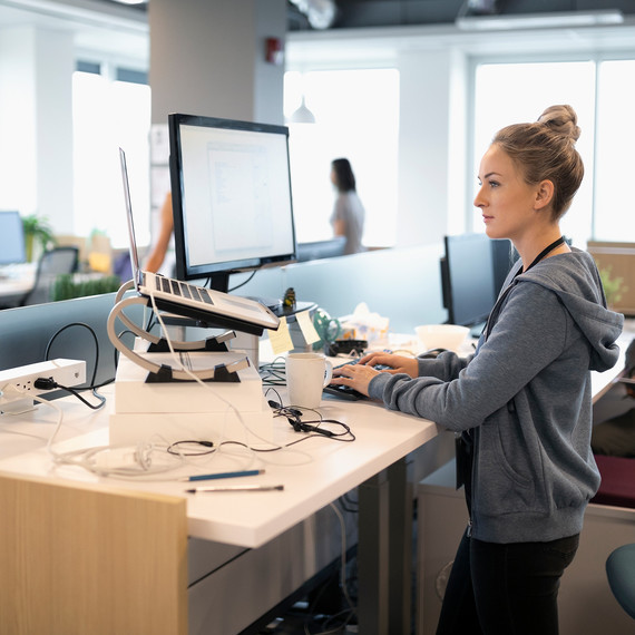 Standing Desks May Not Be the Key to Productivity, New Research Suggests