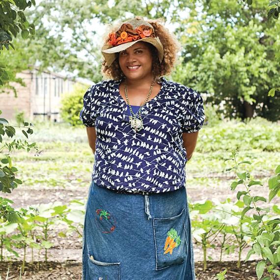Growing Power's creater Erika Allen