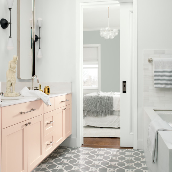 excellent good bathroom paint colors | These Are the Most Popular Bathroom Paint Colors for 2019 ...