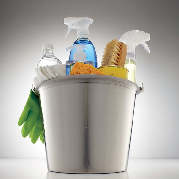 Cleaning Bucket Mld108211. Basic Kitchen And Cleaning Supplies ...