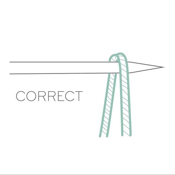 Correct Stitch Mount