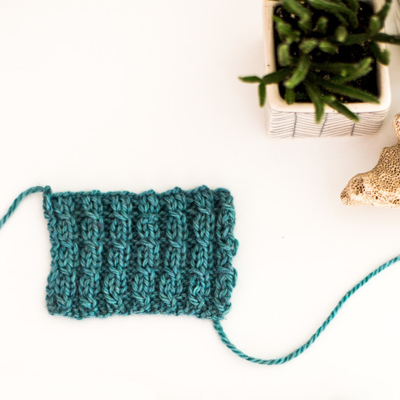 ae482a3de4d Add a Fun Twist to Your Knitting with Mock Cable Ribbing
