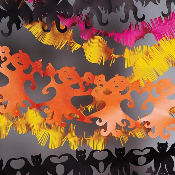 paper banner garland