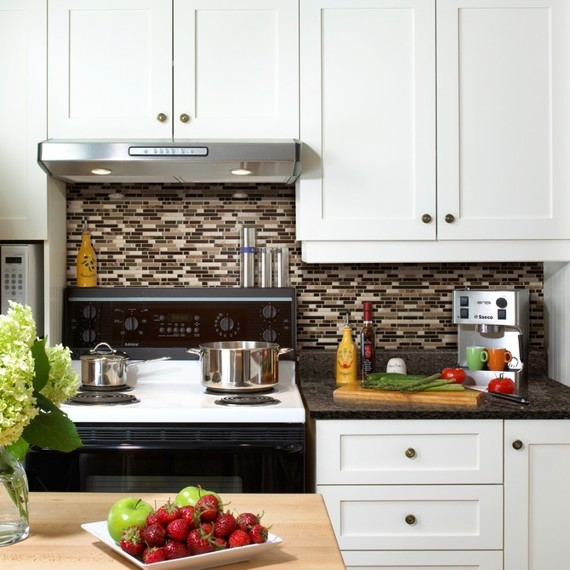 Smart Tile Stick On Backsplash Kitchen