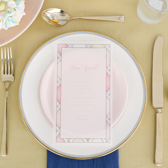 beauty and the beast baby shower menu