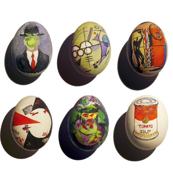 painted easter egg masterpieces