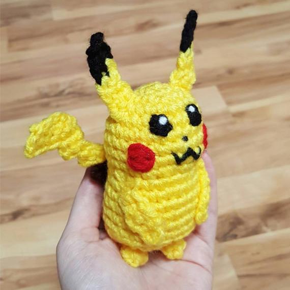 pokemon go crochet pikachu