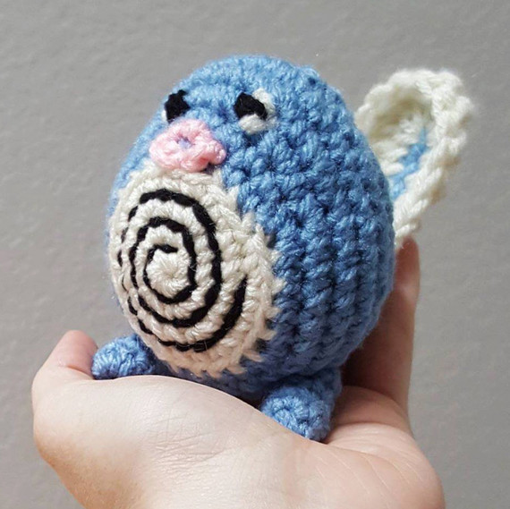 pokemon go crochet poliwag