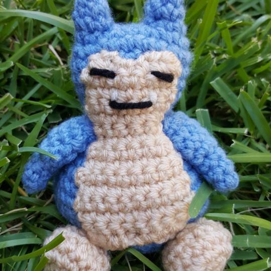 pokemon go crochet snorlax