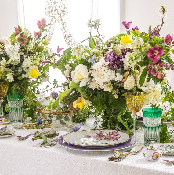 How To Set A Royal Wedding Table With Floral Centerpieces Martha