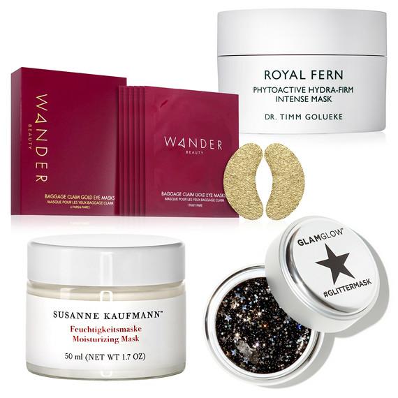 wander, glamglow, royal fern, susanne kaufmann masks