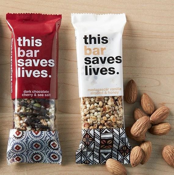 this bar saves lives granola bars