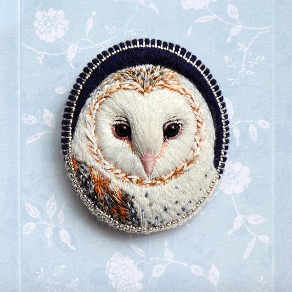 barn owl by paulina bartnik