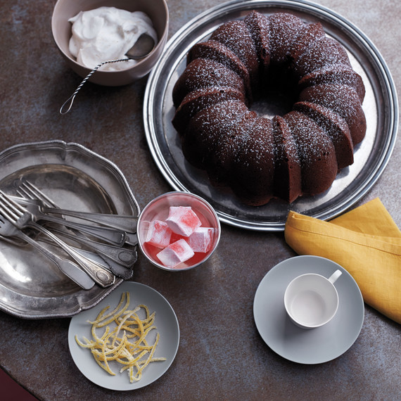 Chocolate Bundt Cake With Instant Coffee