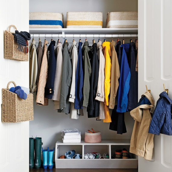 How to Organize a Deep Closet