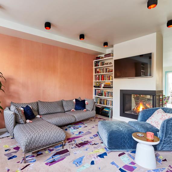 dania colorful home redo living room