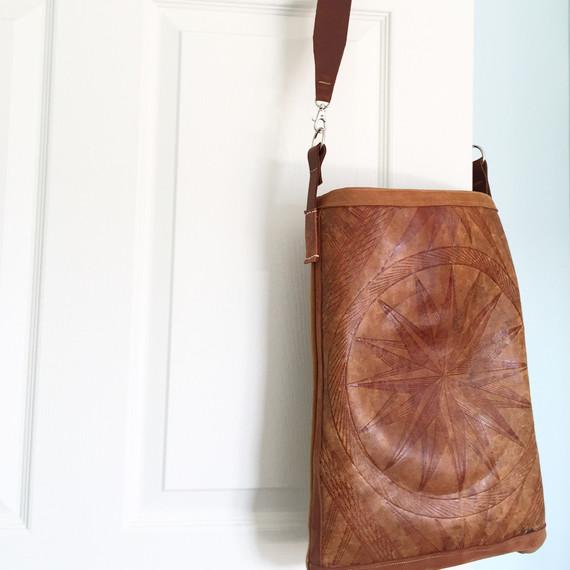 east and market saddle bag