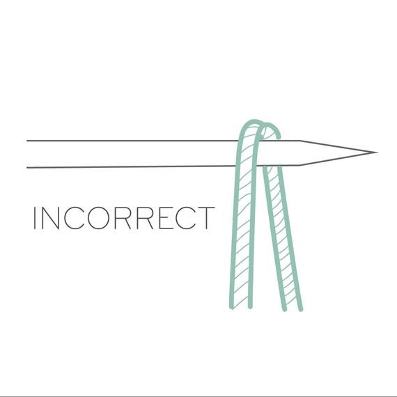 Incorrect Stitch Mount