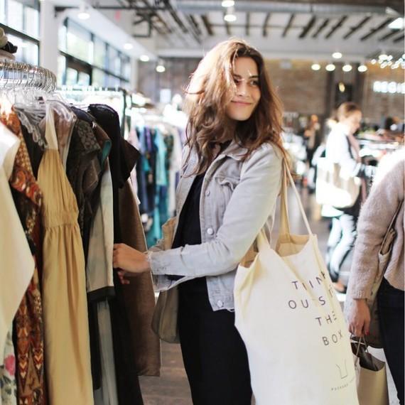 lauren singer shopping