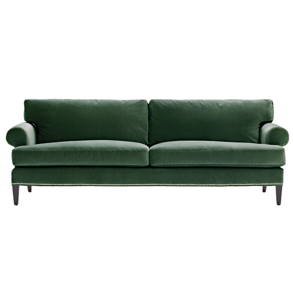 green lawson sofa