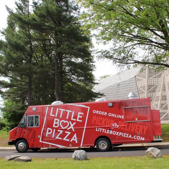 food truck little box pizza