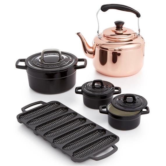 macy's heirloom copper black cast iron