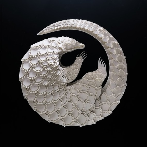 pangolin papercut