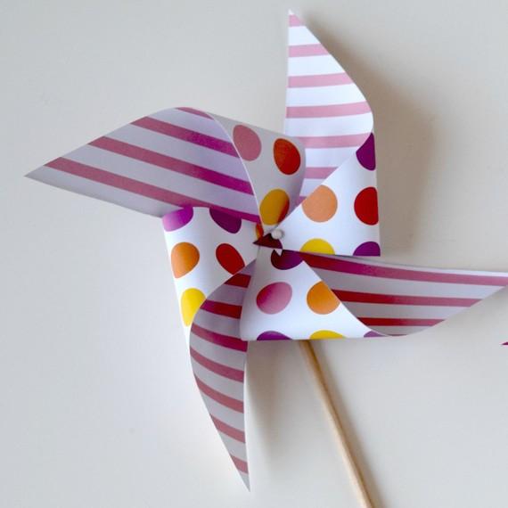 Paper Pinwheel 2