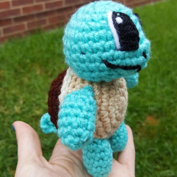 pokemon go crochet squirtle