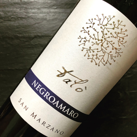 san marzano wine label