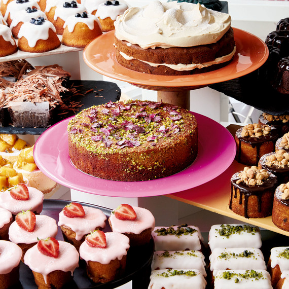sweet dessert cake assortment