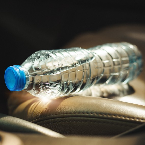 Here's Why You Should Never Leave a Bottle of Water in Your Car