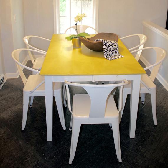 craigslist yellow table