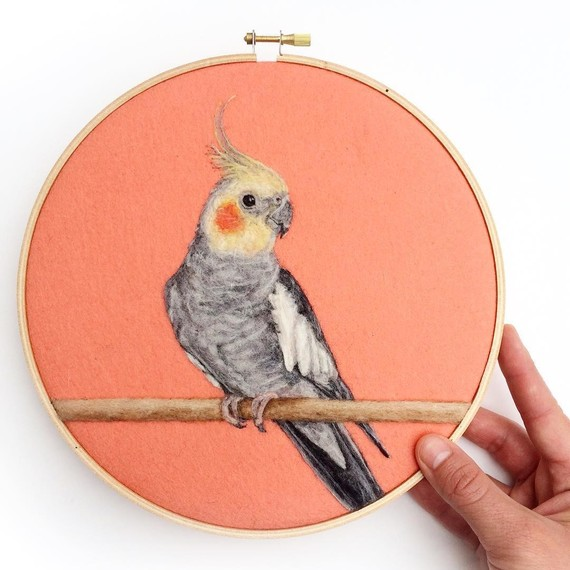 felt-art-bird-portrait