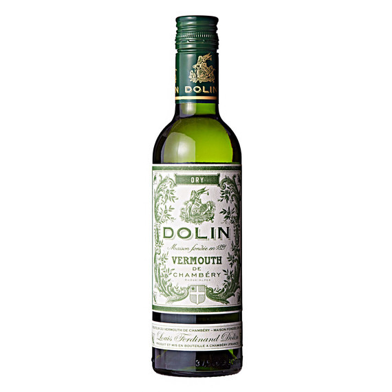 dolin dry vermouth bottle