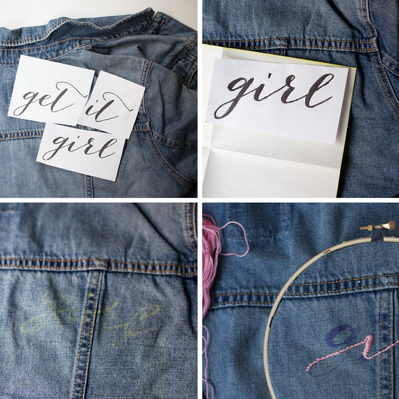 1 Denim Jacket 3 Beautiful Ways To Personalize It