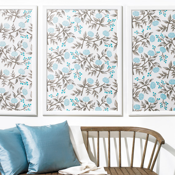 How to Frame Wallpaper as Art | Martha Stewart