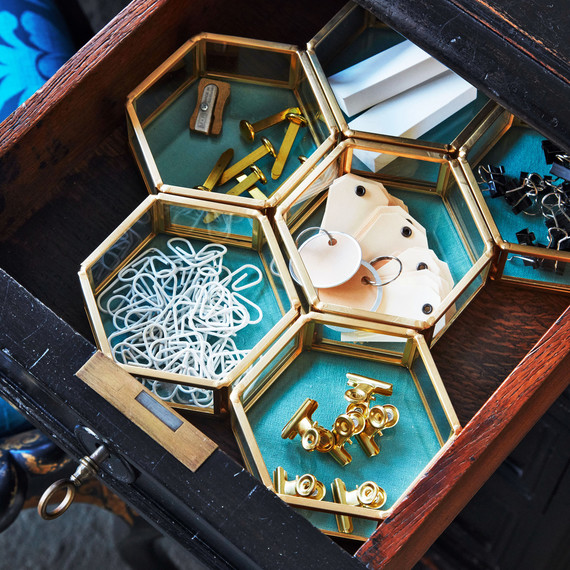 金桌子抽屉整理器
