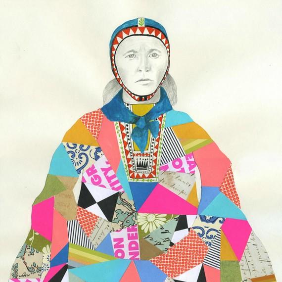 Lisa Congdon Sami Woman 2011