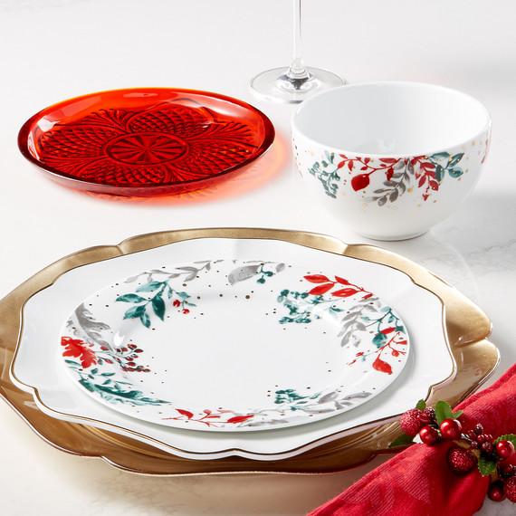 martha stewart collection holiday serveware