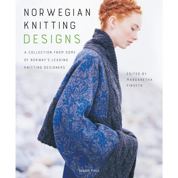 norwegian knitting designs book cover