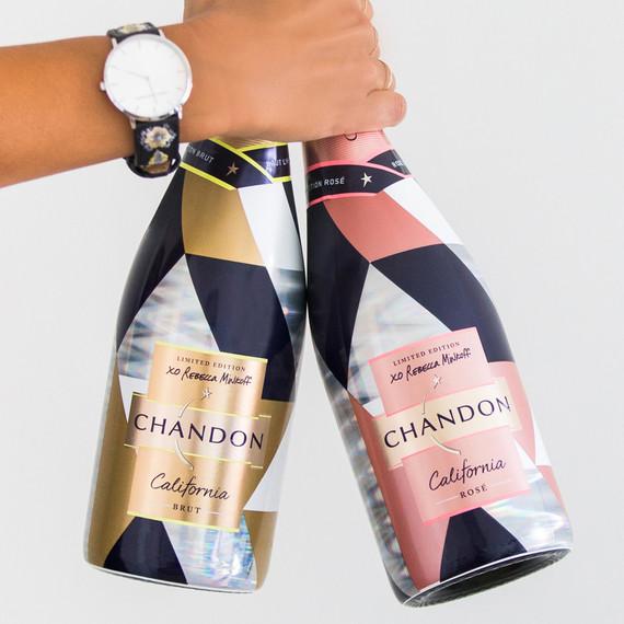 hand holding rebecca minkoff chandon