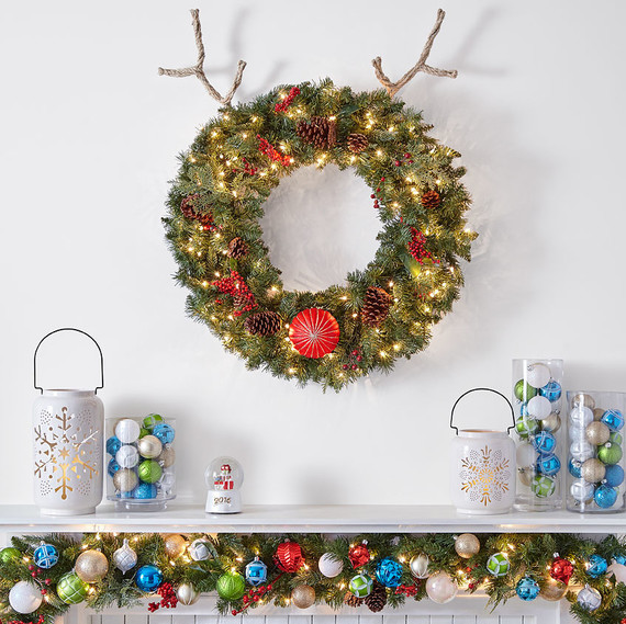 reindeer wreath craft