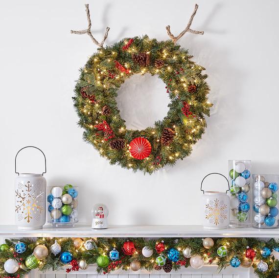 reindeer wreath craft