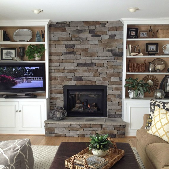 How to create the stacked stone fireplace look on a budget martha stacked stone fireplace 0915g skyword188132 teraionfo
