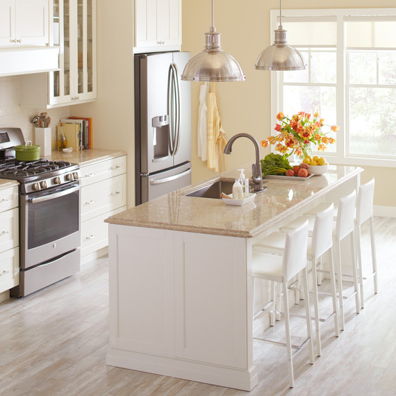 Quartz Bathroom Countertops Home Depot: Kitchen Makeover Tips From The Home Depot Design Team