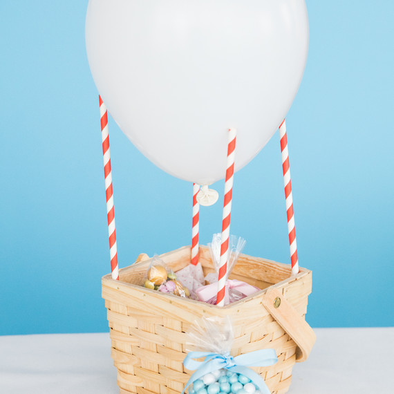 Up Up and Away DIY hot air balloon with goody bag