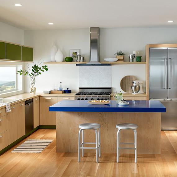 behr paint neutral navajo white kitchen