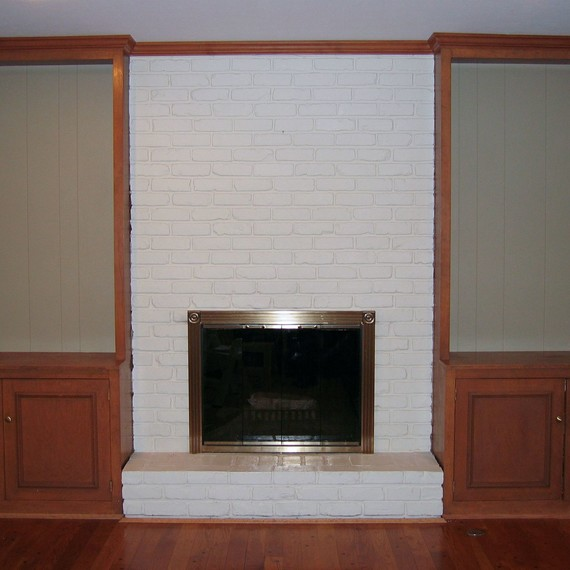 how to create the stacked stone fireplace look on a budget martha rh marthastewart com stacked brick fireplace enclosure stacked stone vs brick fireplace